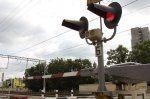 Нарушение правил на переезде Смоленск